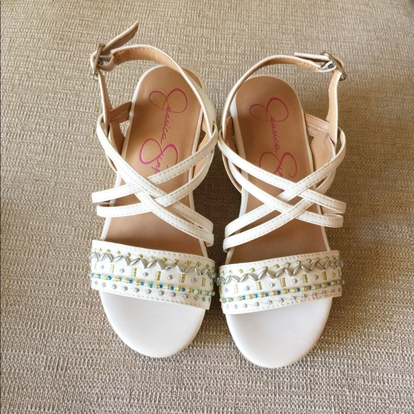Jessica Simpson Shoes | New White Girls